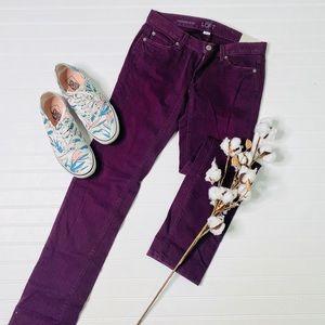 Ann Taylor LOFT Modern Slim Low Rise Jeans